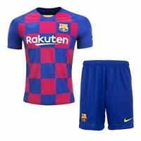 FC Barcelona Red and Blue Home 19/20 Dry Fit Small size free shipping UK