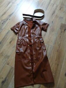 ROBE neuve ZARA simili cuir a s offrir vue sur Blog mode