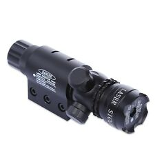 20MM Pistol Weaver Picatinny Rail Tactical Red Dot Laser Sight Scope w/ Mount