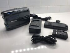 Panasonic NV-CS1 VHS-C Snap Video Camera With Extras For Parts Or Repair