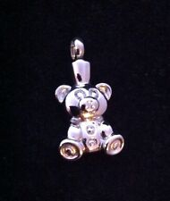 Teddy Bear Cremation Necklace Pendant Memorial Ashes Keepsake Child Stillborn