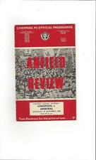 Arsenal Away Team Division 1 Football Programmes