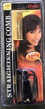 New! Annie Electrical Straightening Comb - Medium Straight Teeth -500F Hot #5530