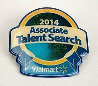 RARE Walmart Lapel Pin 2014 ASSOCIATE TALENT SEARCH Employee Pinback Wal-Mart
