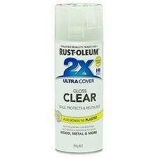 Rust-Oleum 298g Gloss Clear 2x Ultra Cover Spray Paint