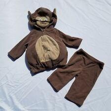 Carters Boys Girls Monkey Costume Size 3-6 Month Halloween Chimp Warm  Hood Tail