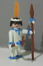 PLAYMOBIL (E409) INDIENS - Guerrier du Set Vintage 3125 de 1974