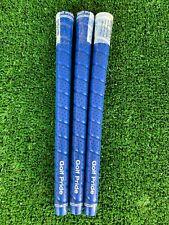 Golf Pride Tour Wrap 2G Blue Standard 60R Grips *Genuine* 3 Pcs set