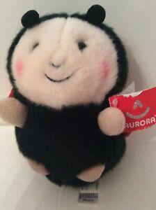 """Aurora Lively Ladybug Plush  Rolly Pets 6"""""""