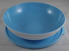 Tupperware C 151 Allegra 1,5 l Schüssel mit Deckel Hellblau Blau / Weiß Neu OVP