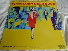Rare In Shrink Mod Funk Breaks LP : Fred Karlin ~ Up The Down Stair Case ~ U A