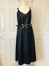 Women's Faux Leather Dress Size 12