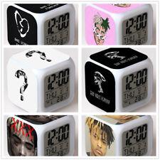 Xxxtentacion Triple X Hiphop Led Night light Digital Alarm Clock Best Gift New