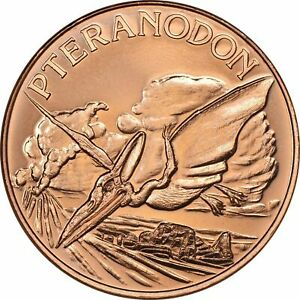 Lot of 20 - 1 oz Copper Round - Pteranodon