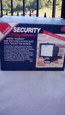 security sensor flood light