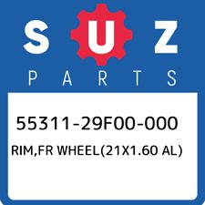 55311-29F00-000 Suzuki Rim,fr wheel(21x1.60 al) 5531129F00000, New Genuine OEM P