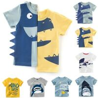 Fashion Toddler Baby Kids Boy Girl Cute Cotton Polo T-Shirts Tops Blouse Clothes
