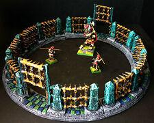 Gladiator Fighting Arena, for fantasy war games like Warhammer and Frostgrave