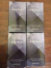 LOT OF 4 AVON Black Suede Essential Eau De Toilette Spray NEW