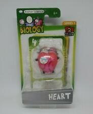 Basher Science Biology Series 1 HEART Figure + 2 Game Cards