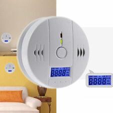 Portable Sound Combo Sensor CO Detector Poisoning Smoke Fire Gas Alarm Hot