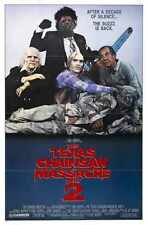 Texas Chainsaw Massacre 2 Poster 02 A3 Box Canvas Print