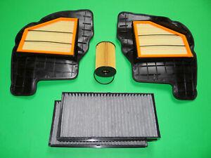 Ölfilter Luftfilter Aktivkohle Pollenfilter BMW X6 E71 E72 50iX (300kW/408PS)