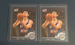 2002-03 Topps Chrome Yao Ming Rookie Card RC #146 Chinese Version ROCKETS X 2 🙌
