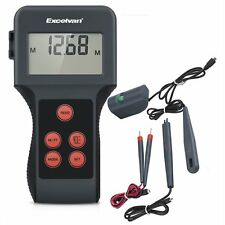 Excelvan LCD Digital Display Moisture Multi Meter Humidity Tester for Garden