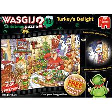 Falcon / Jumbo Wasgij - Christmas 13 - Turkeys Delight Jigsaw Puzzle