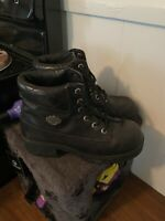 harley davidson womens boots - size 8