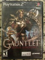Gauntlet Seven Sorrows - Complete PlayStation 2 PS2 Game TESTED FREE S/H