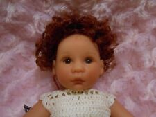 Monique ANNIE Doll Wig SZ 4/5 Flamming Red~ Modacrylic Full Cap Wig~DISCONTINUED