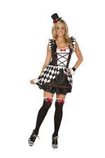 SALE! Haute Harlequin Costume, Elegant Moments, Clown, Circus, Sexy, Mime