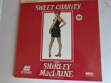 SWEET CHARITY LASERDISC 2 discs  NTSC Shirley MacLaine