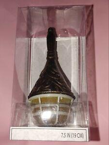 """Lillian Rose Bronze 7.5"""" Wedding Bouquet Holder--NEW, Open Box"""