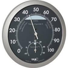 Thermo-hygromètre TFA Dostmann 45.2043.51 anthracite, argent