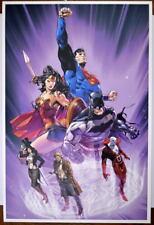 TRINITY Cover Print / Poster DC Batman Wonder Woman Zatanna Deadman Constantine