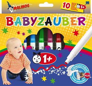 Neu Malinos Babyzauber 10 Malstifte Buntstifte (ab 1 Jahr)