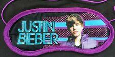 Justin Bieber  Eye Sleep Mask - Purple Satin