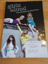 GIRLS ALOUD HIT;S TOUR TOUR PROGRAMME & TICKET