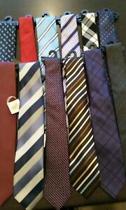 Mens Ties - Bulk lot of 12 assorted Colours - RRP $300.00 (free postage)