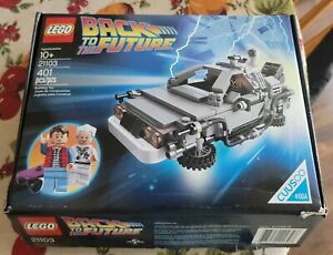 LEGO Cuusoo The DeLorean Time Machine (21103) 401 Pieces.  100% complete.  Used