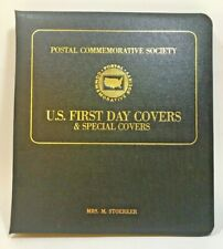 Postal Commemorative Society U.S. First Day Covers & Special Covers 9 Stamps