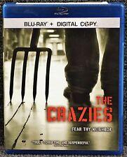 The Crazies (Blu-ray Disc, 2010, Includes Digital Copy) **NO SCRATCHES**