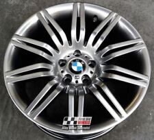 "R141SC YOURS4 Ours BMW 5 SERIES 4X 19"" GENUINE SPIDER SHADOW CHROME ALLOY WHEELS"