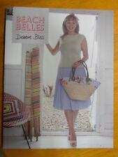 Debbie Bliss Beach Belles Knitting Pattern Book - prima, amalfi rialto 4 ply