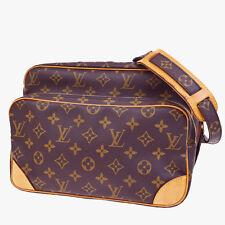 Auth LOUIS VUITTON Cross Body Nile Shoulder Bag Monogram Brown M45244 64Q761