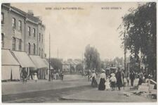 Jolly Butchers Hill Wood Green, London 1904 Postcard B833