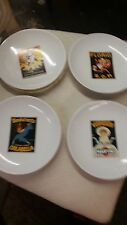 Pottery Barn Vintage Cocktail Plates New